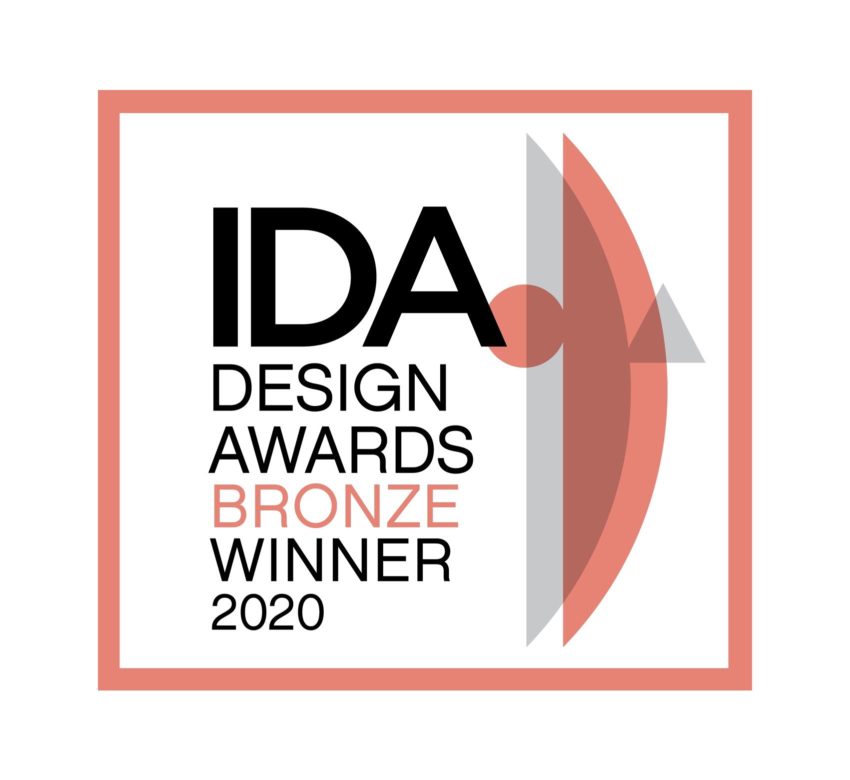 IDA Design Awards BRONZE Winner 2020