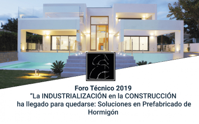 "Technical forum 2019 ""Construction Industrialisation is here to stay: precast concrete solutions"""