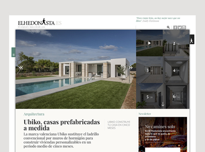 Ubiko, tailored prefabricated houses